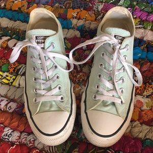 Converse Mint Seafoam Classic Sneakers Size 8